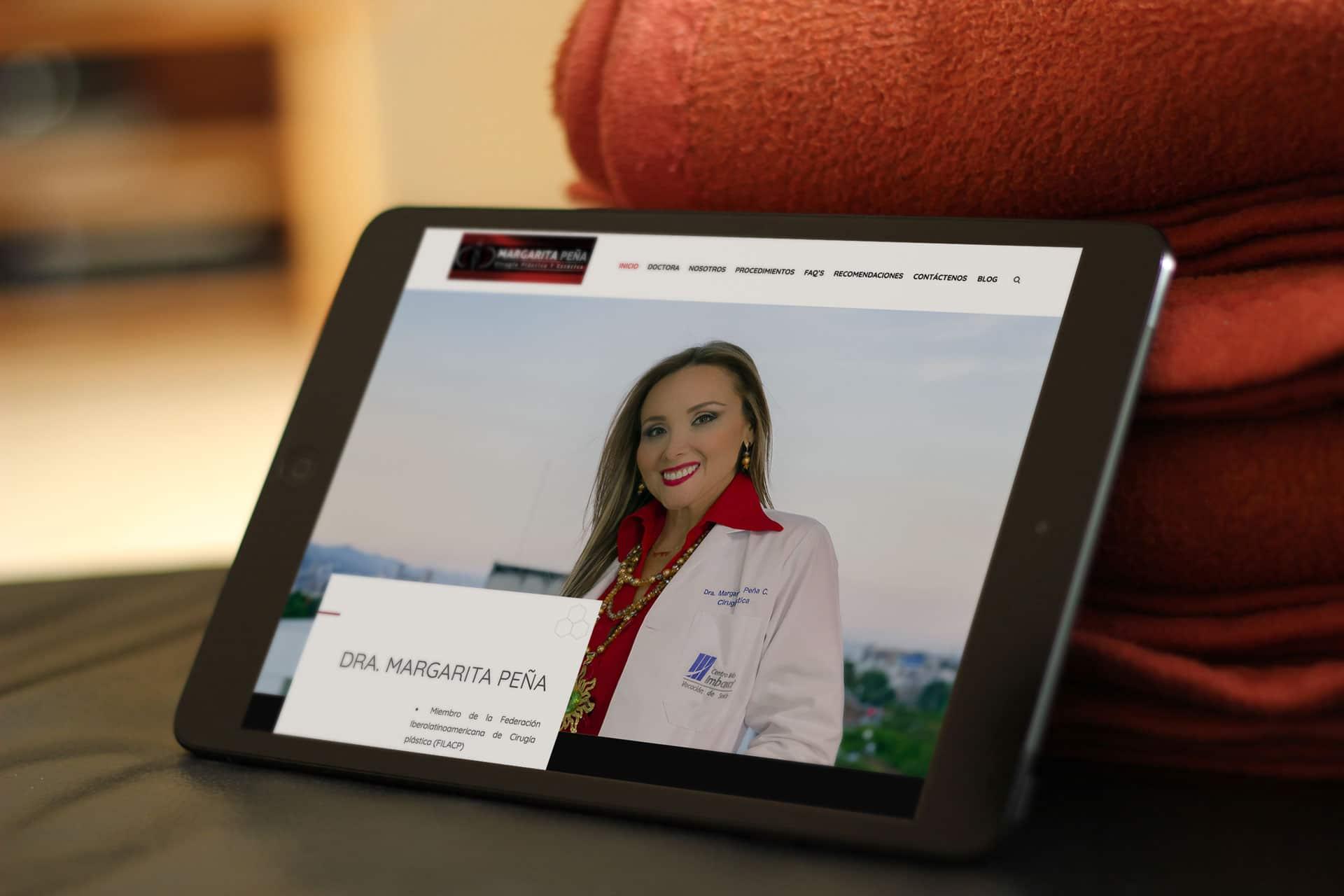 Fotografia profesional para Consultorio en Cali | Dra Margarita Peña